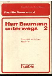 Herr Baumann unterwegs 2 - Régikönyvek