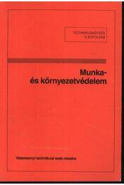 Munka- és környezetvédelem - Régikönyvek