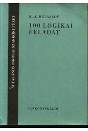 100 logikai feladat - Régikönyvek