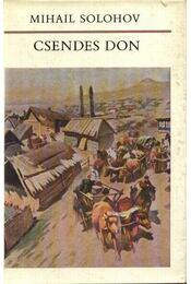 Csendes Don I-IV. kötet - Régikönyvek