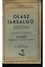 Olasz társalgó - Régikönyvek