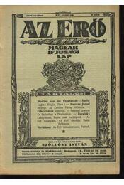 Az Erő (1930. 2.sz.) - Régikönyvek