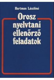Orosz nyelvtani ellenőrző feladatok - Régikönyvek