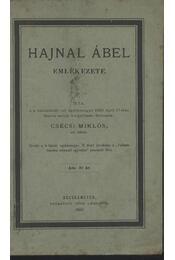 Hajnal Ábel emlékezete - Régikönyvek