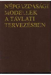 Népgazdasági modellek a távlati tervezésben - Régikönyvek
