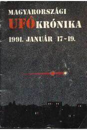 Magyarországi ufókrónika 1991. január 17-19. - Régikönyvek