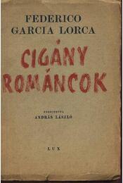 Cigány románcok - Régikönyvek