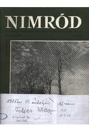 Nimród 1971. évfolyam (teljes) - Régikönyvek