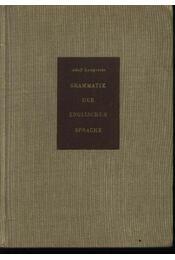 Grammatik der englischen Sprache - Régikönyvek