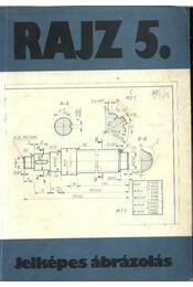 Rajz 5. - Jelképes ábrázolás - Régikönyvek