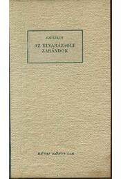 Az elvarázsolt zarándok - Régikönyvek