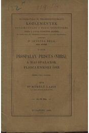 Prospalax Priscus (NHRG) a mai spalaxok pliocaenkori őse - Régikönyvek