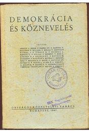 Demokrácia és köznevelés - Régikönyvek