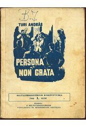 Persona non grata - Régikönyvek