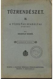 Tűzrendészet III. - Régikönyvek
