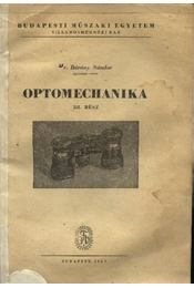 Optomechanika III. rész - Régikönyvek