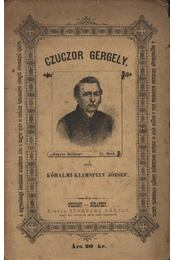Czuczor Gergely - Régikönyvek