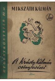 A Krúdy Kálmán csinytevései - Régikönyvek