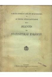 A M. Kir. Kormány 1936. évi működéséről...stasztikai évkönyv - Régikönyvek