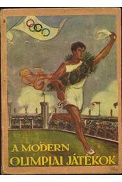 A modern olimpiai játékok - Régikönyvek