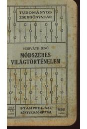 Módszeres világtörténelem - Régikönyvek