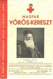 Magyar Vöröskereszt - XX. évfolyam, 12. szám - Régikönyvek