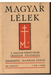 Magyar Lélek 1943.március - Régikönyvek