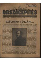 Országépítés 1941. március - Régikönyvek