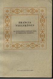 Francia nyelvkönyv - Régikönyvek