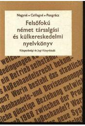 Felsőfokú német társalgás és külkereskedelmi nyelvkönyv - Régikönyvek