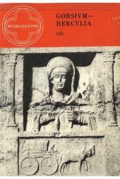 Gorsium-Hercvlia - Régikönyvek