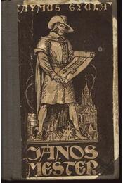 János mester - Régikönyvek