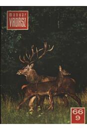 Magyar Vadász 1966/9. - Régikönyvek