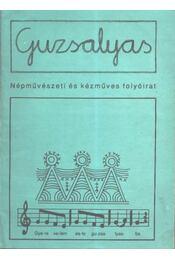 Guzsalyas III. évf. 3-4. szám - Régikönyvek