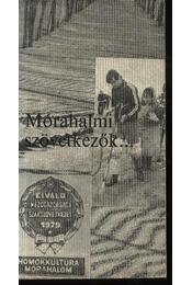 Mórahalmi szövetkezők - Régikönyvek