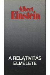 A relativitás elmélete - Régikönyvek