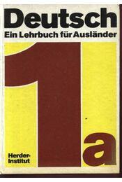Deutsch Ein Lehrbuch für Auslander - Régikönyvek