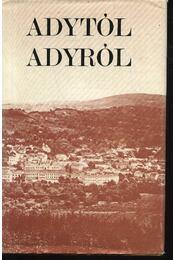 Adytól Adyról - Régikönyvek