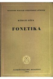 Fonetika - Régikönyvek