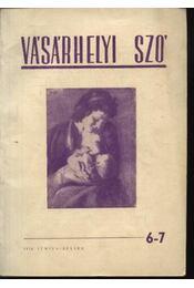 Vásárhelyi Szó (1956. június-július) - Régikönyvek