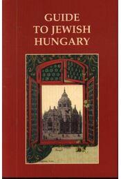 Guide to jewish Hungary - Régikönyvek