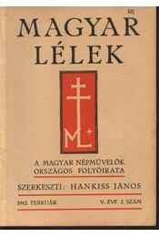 Magyar Lélek 1943. február - Régikönyvek
