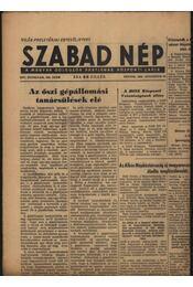 Szabad Nép 1956. augusztus - Régikönyvek