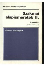 Szakmai alapismeretek II. - Régikönyvek