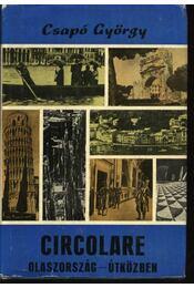 Circolare - Olaszország útközben - Régikönyvek