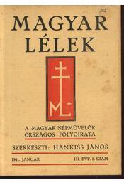Magyar Lélek 1941. január - Régikönyvek