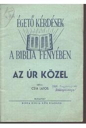 Az Úr közel - Régikönyvek