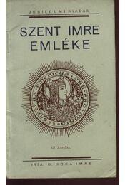 Szent Imre emléke - Régikönyvek