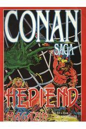 Conan Saga II. évfolyam 4. szám - Régikönyvek