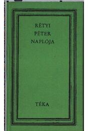 Rétyi Péter naplója - Régikönyvek